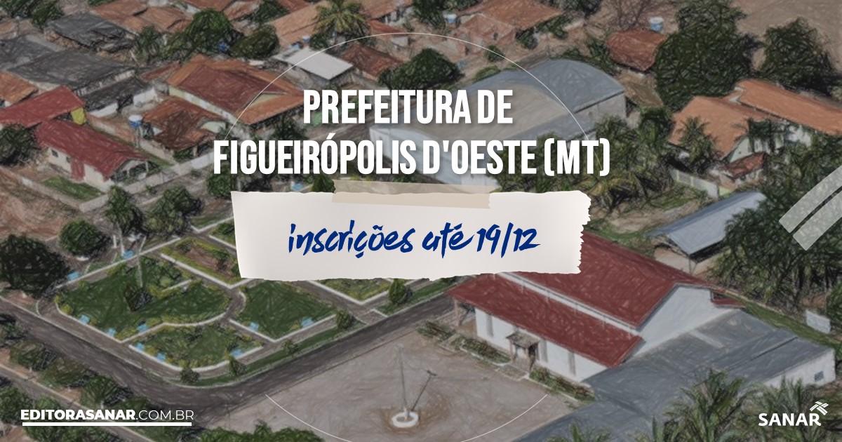 Concurso de Figueirópolis dOeste - MT: vaga na Saúde para médico!
