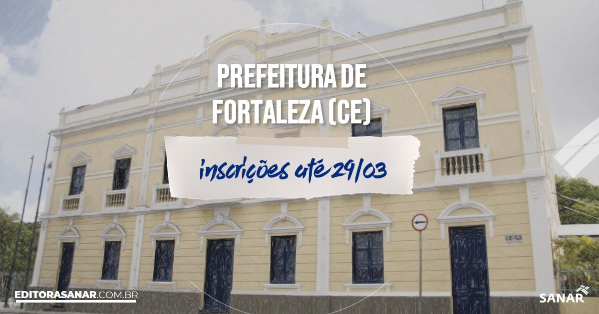 Concurso de Fortaleza - CE: vagas imediatas na Saúde!