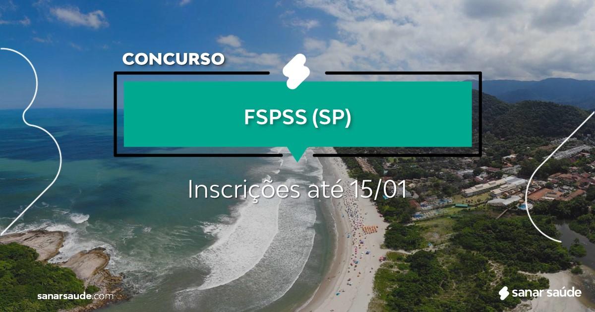 Concurso de FSPSS - SP: vaga na Saúde para médico!