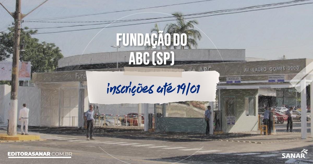 Concurso da Fundação do ABC - SP: salários de até R$11 mil na Saúde!