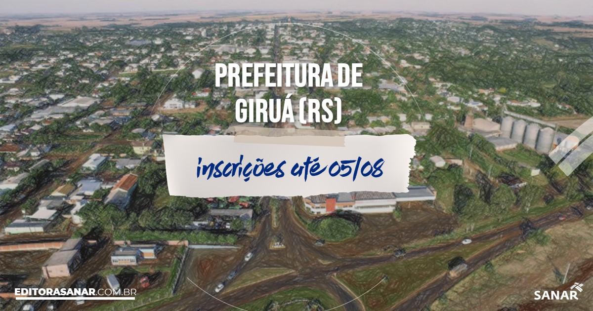 Giruá Rio Grande do Sul fonte: s3.sanar.online