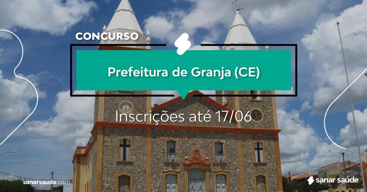 Concurso de Granja - CE: salários até R$12 mil na Saúde!