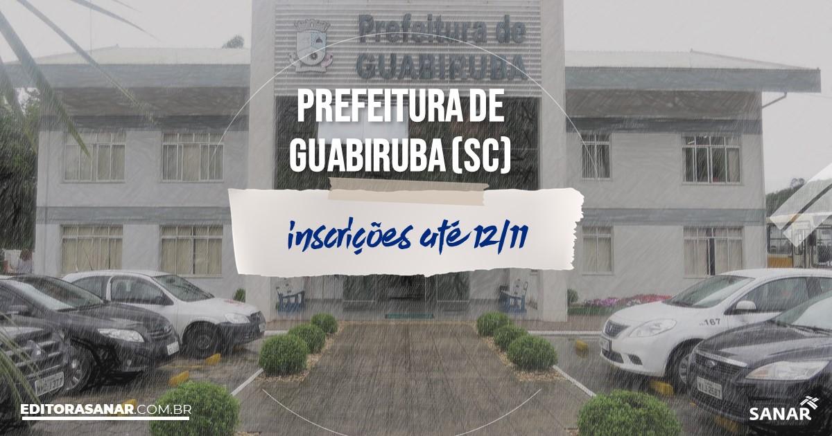 Concurso de Guabiruba - SC: na Saúde, vagas para enfermeiros!