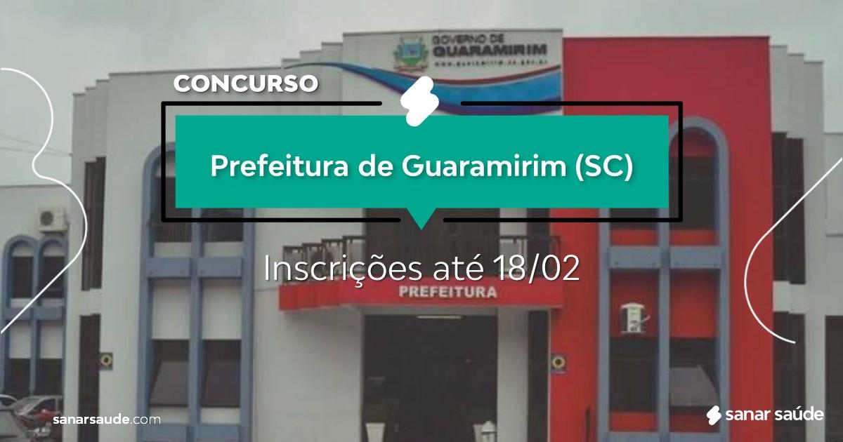 Concurso de Guaramirim - SC: salários de até R$17 mil na Saúde!