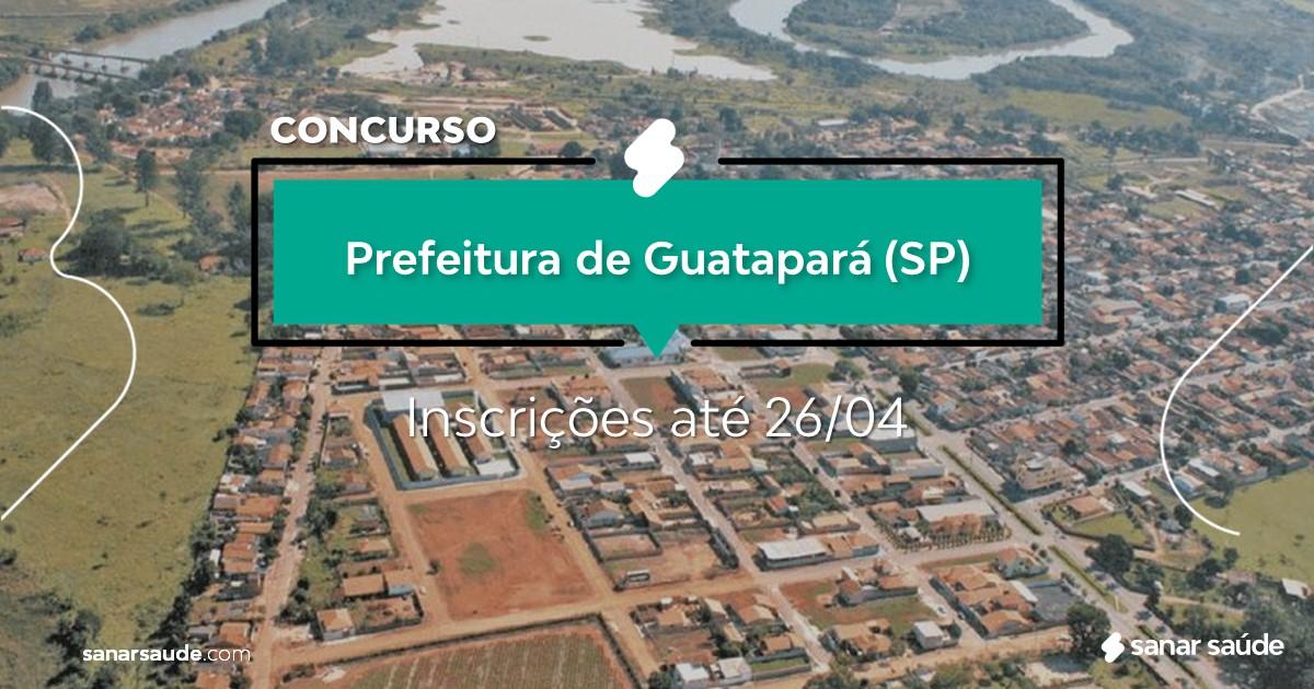 Concurso de Guatapará - SP: na Saúde, vagas para dentistas!