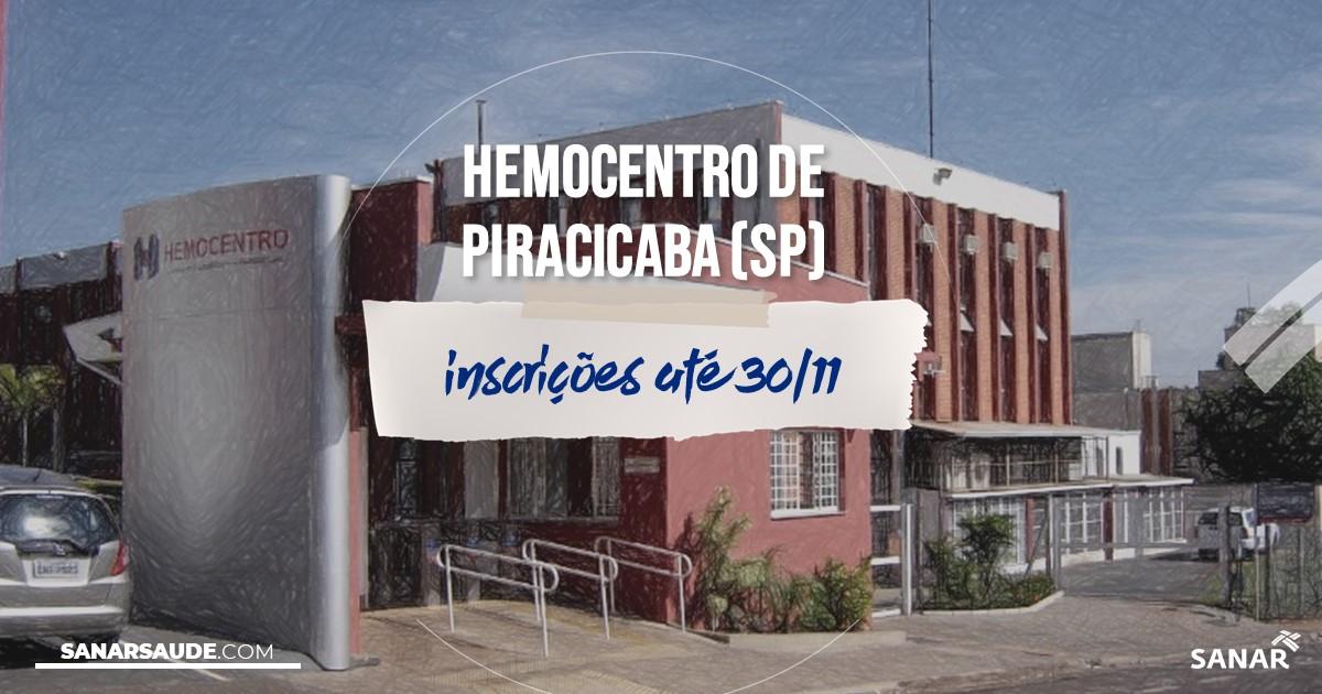Concurso do Hemocentro de Piracicaba - SP: vaga na Saúde para médico!