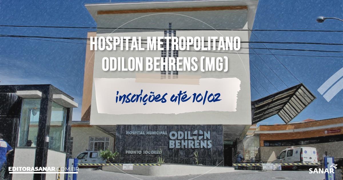 Concurso do HOB - MG: vagas imediatas na Saúde!
