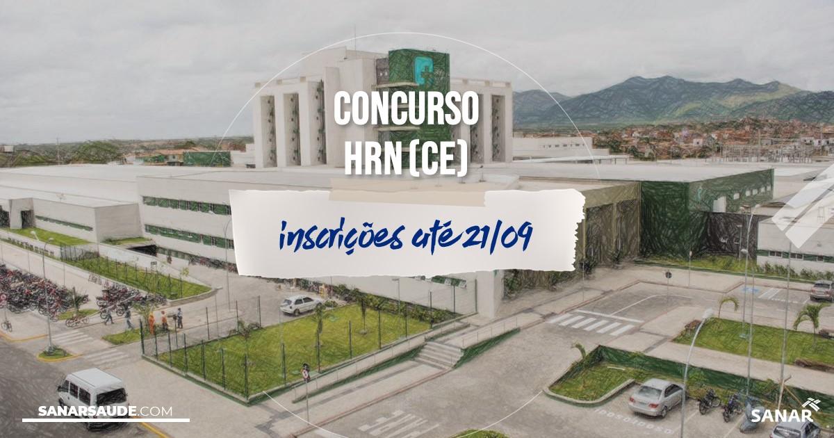 Concurso do HRN - CE: salários de até R$9,5 mil na Saúde!