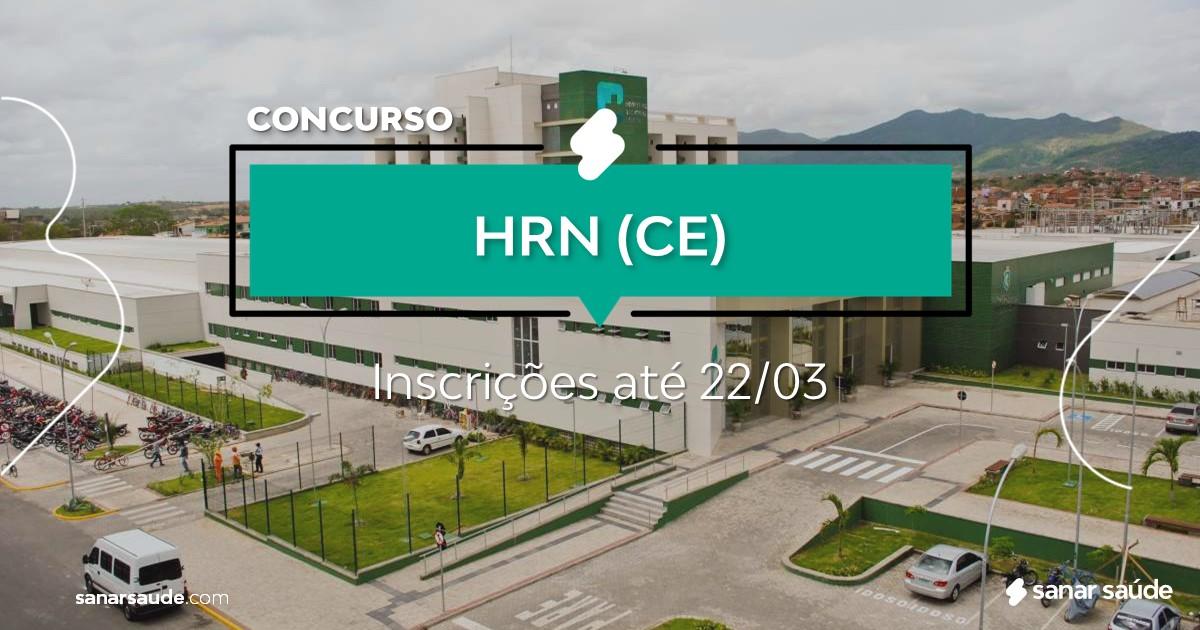 Concurso do HRN - CE: salário de R$9,5 mil na Saúde!