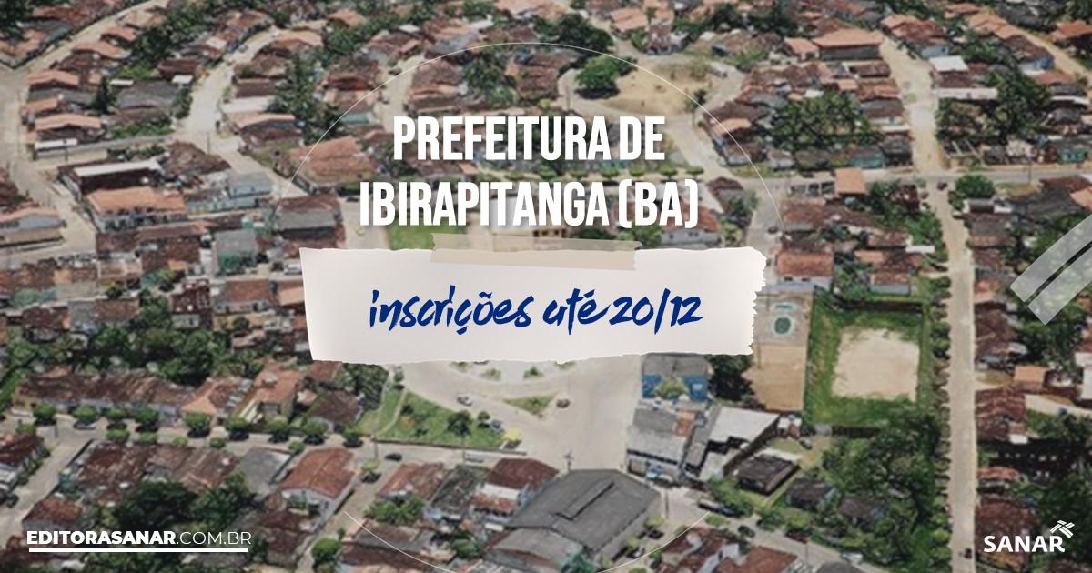 Concurso de Ibirapitanga - BA: salários na Saúde de até R$8 mil!