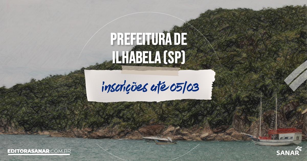 Concurso de Ilhabela - SP: vagas na Saúde para farmacêuticos!