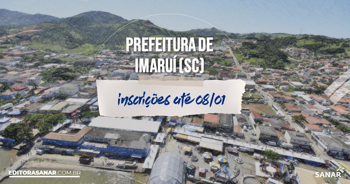 Concurso de Imaruí - SC: vagas imediatas na Saúde!