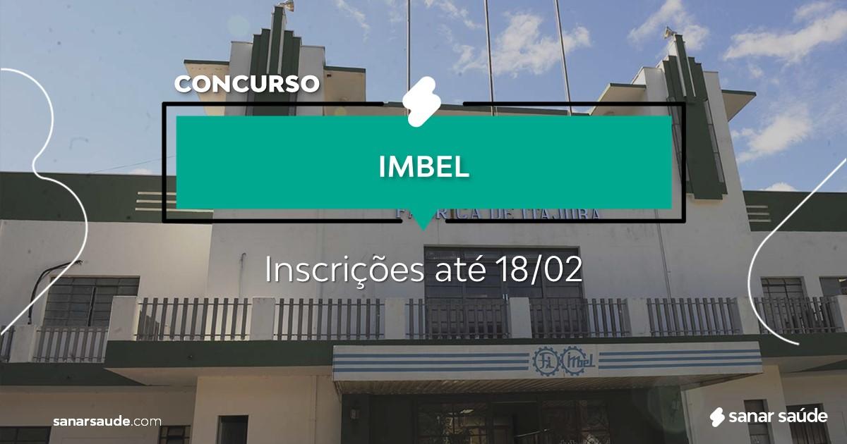 Concurso da IMBEL:  cargos na Saúde!