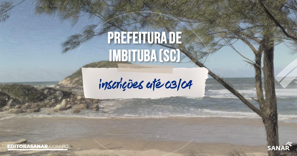 Concurso de Imbituba - SC: vagas na Saúde!