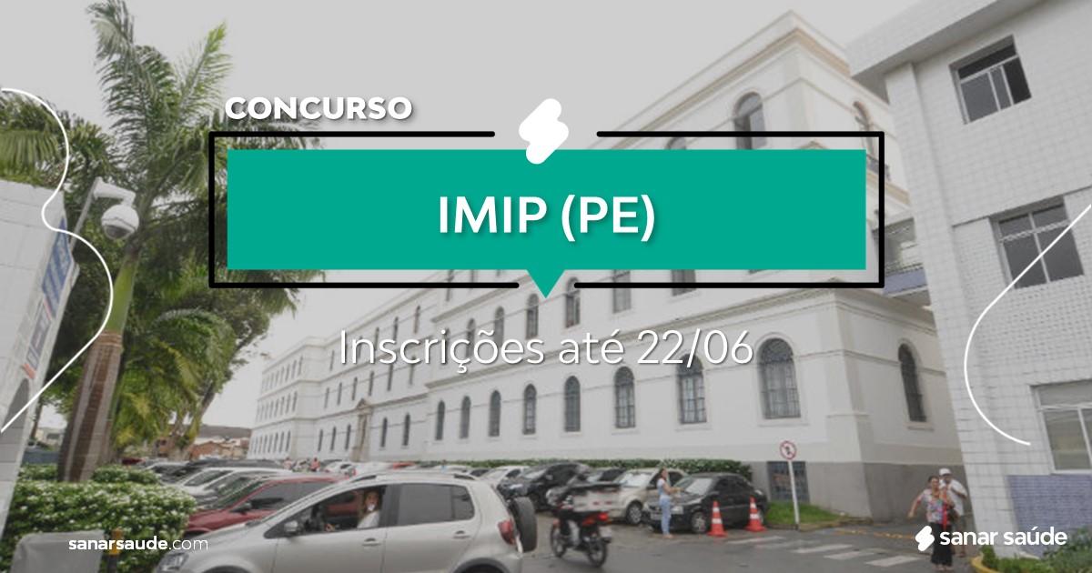 Concurso do IMIP - PE: na Saúde, vagas para enfermeiros!
