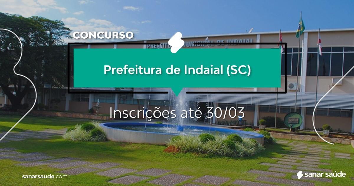 Concurso de Indaial - SC: salários de até R$14 mil na Saúde!