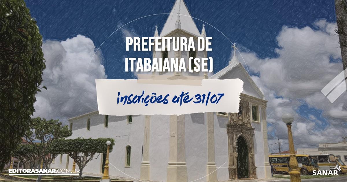 Concurso de Itabaiana - SE: salários de até R$9,5 mil na Saúde!