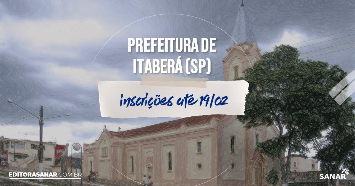 Concurso de Itaberá - SP: salários na Saúde de até R$16 mil!