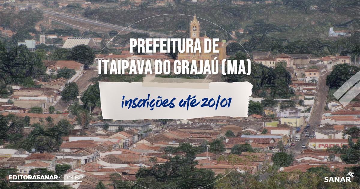 Concurso de Itaipava do Grajaú - MA: vagas imediatas na Saúde!