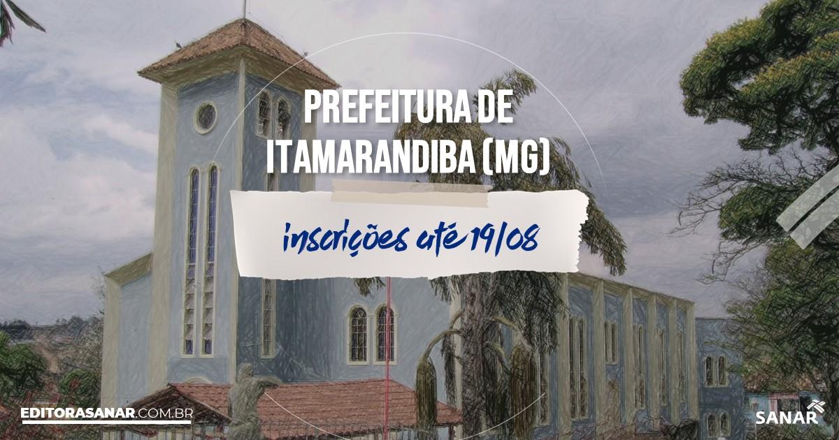 Concurso de Itamarandiba - MG: salários de até R$12,5 mil na Saúde!