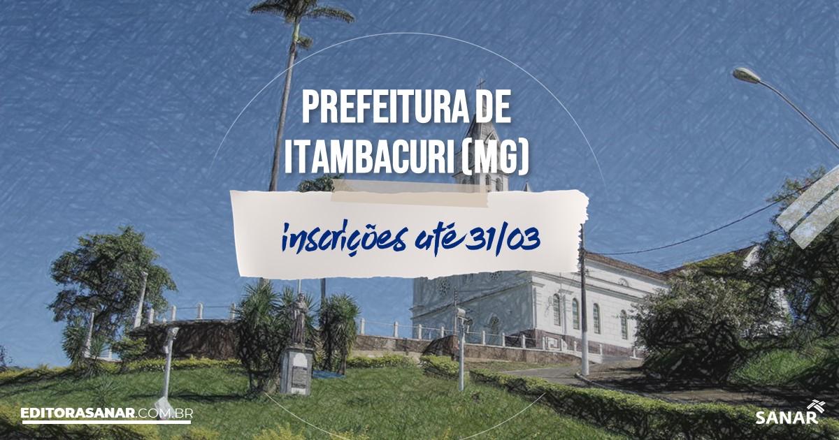 Concurso de Itambacuri - MG: vagas na Saúde!