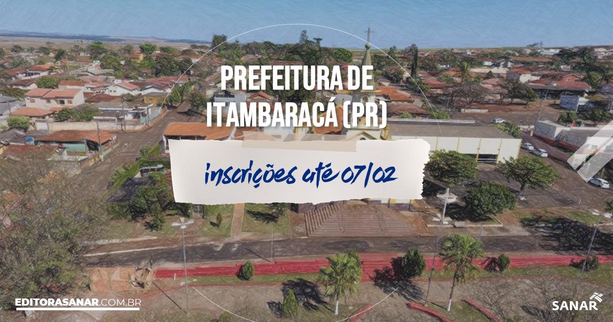 Concurso de Itambaracá - PR: vagas na Saúde!