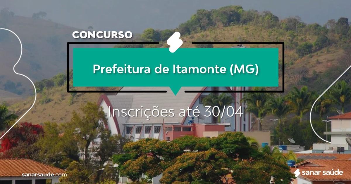 Concurso de Itamonte - MG: salários até R$11 mil na Saúde!