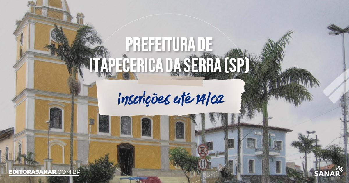 Concurso de Itapecerica da Serra - SP: vagas imediatas na Saúde!