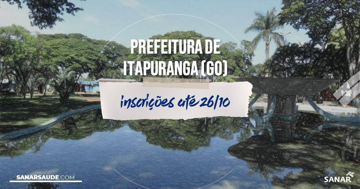 Concurso de Itapuranga - GO: na Saúde, salários até R$7 mil!