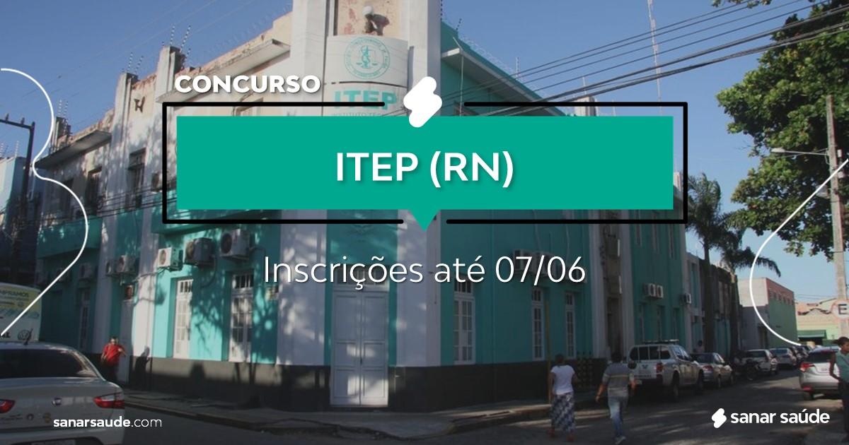 Concurso do ITEP - RN: vagas imediatas na Saúde!