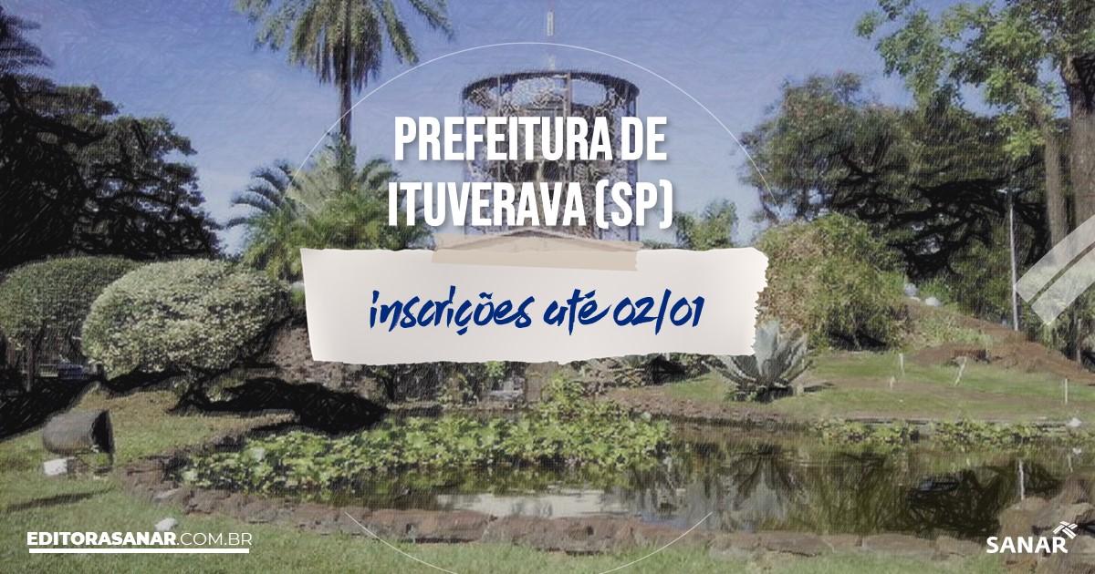 Concurso de Ituverava - SP: vagas imediatas na Saúde!