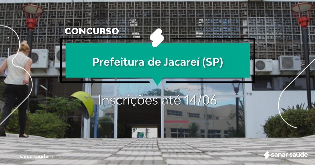 Concurso de Jacareí - SP: vagas na Saúde para médicos!