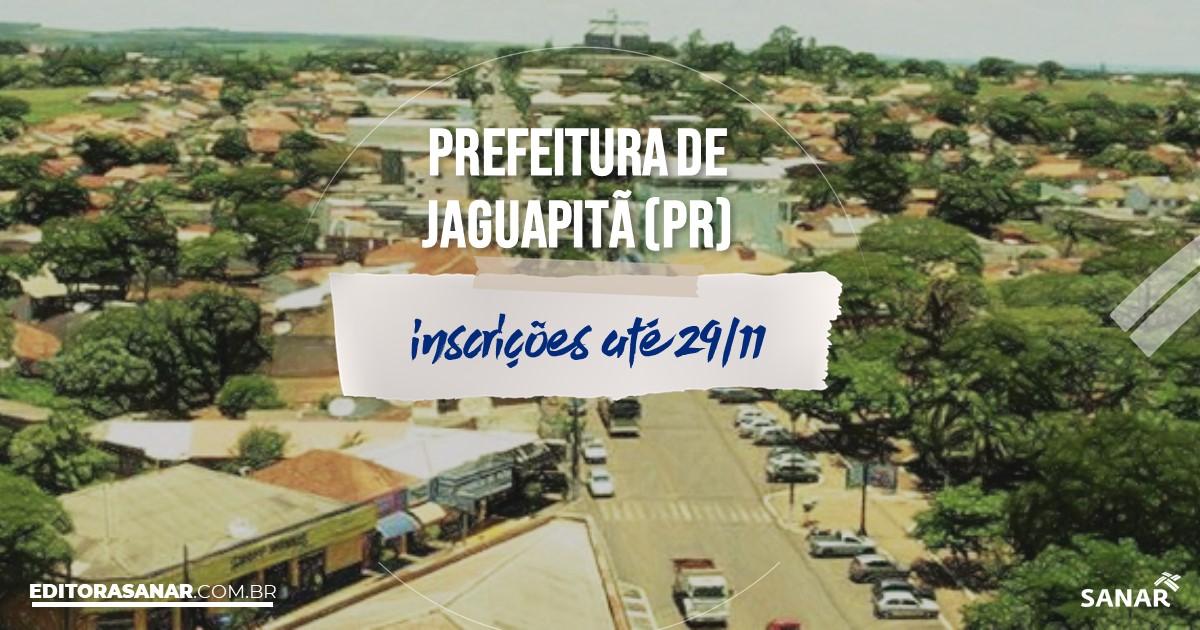 Concurso de Jaguapitã - PR: salários na Saúde de até R$15 mil!