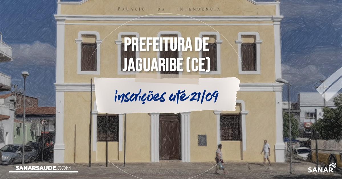 Concurso de Jaguaribe - CE: salários de até R$9,8 mil na Saúde!