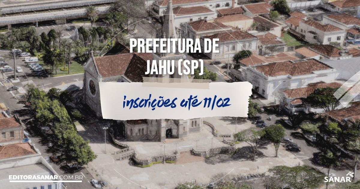 Concurso de Jahu - SP: vagas imediatas na Saúde!