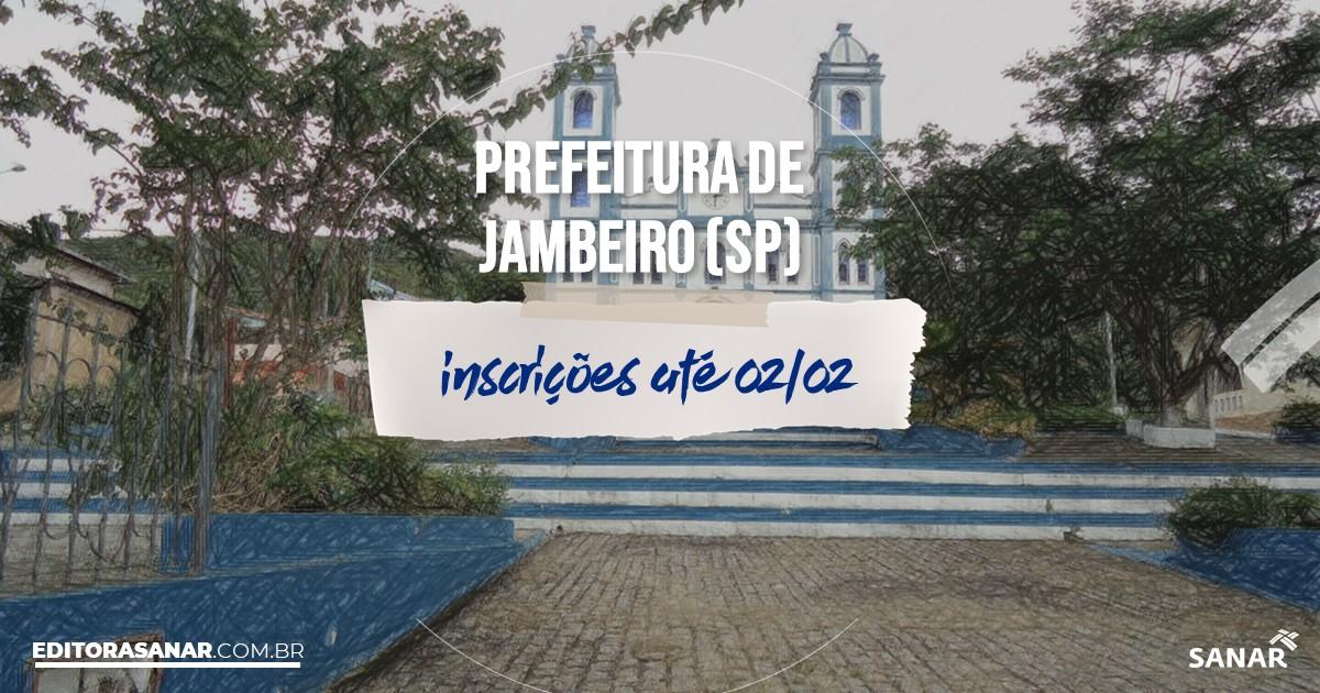 Concurso de Jambeiro - SP: na Saúde, vaga para psicólogo!