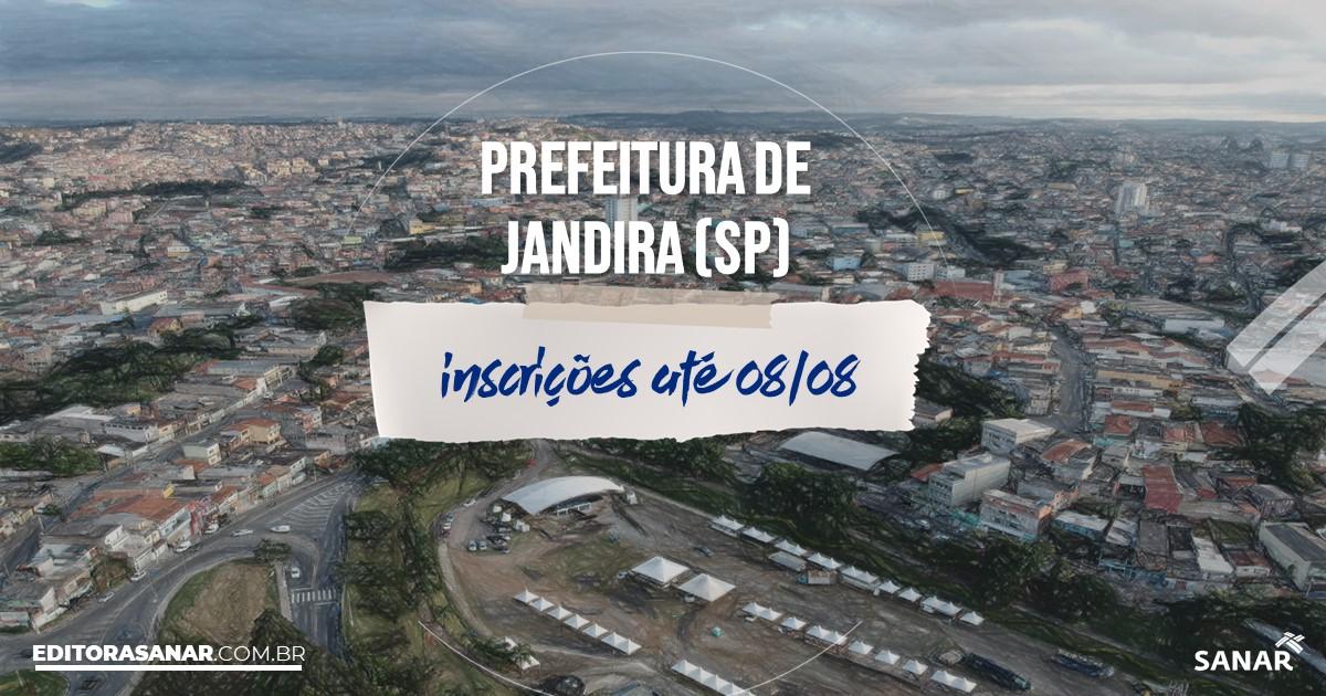 Concurso de Jandira - SP: vagas imediatas na Saúde!