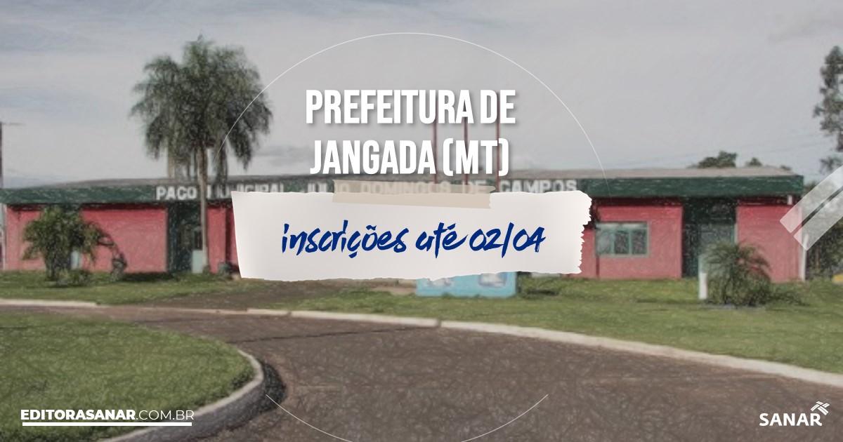 Concurso de Jangada - MT: cargos na Saúde!