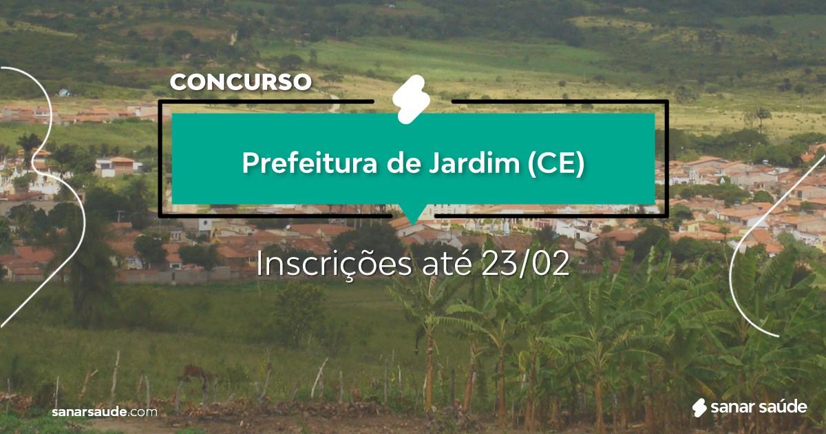 Concurso de Jardim - CE: na Saúde, salários de até R$10 mil!