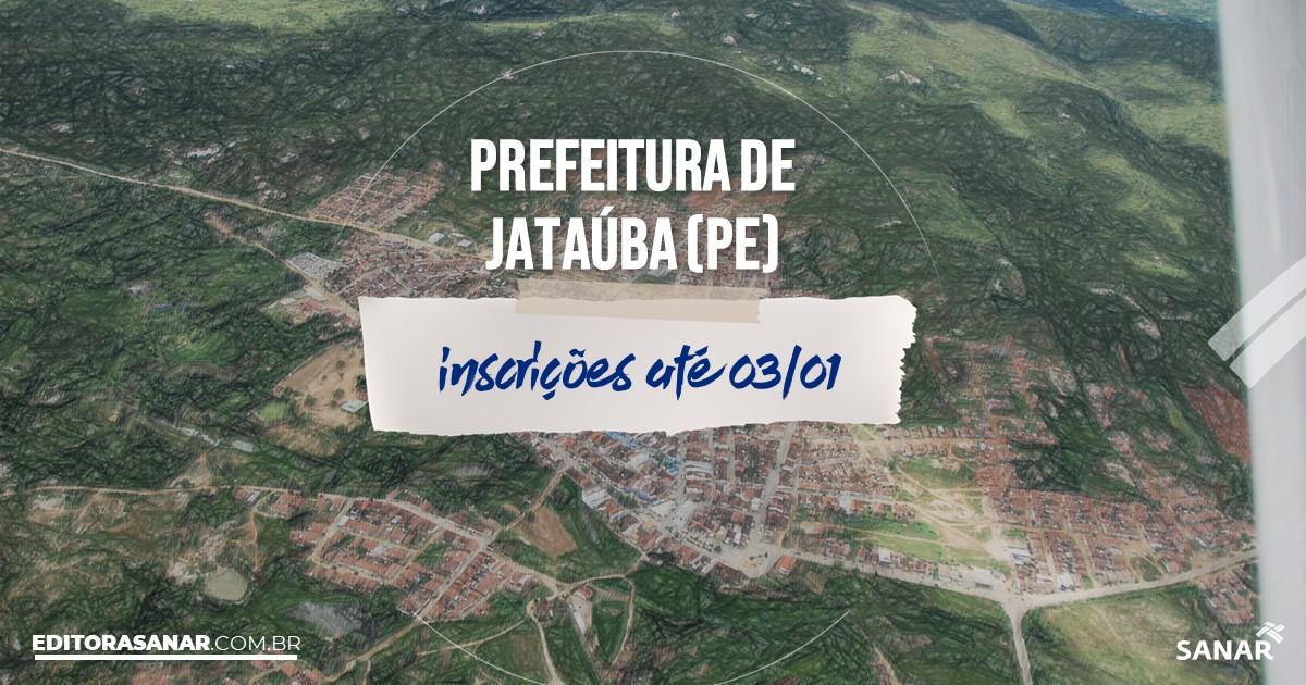 Concurso de Jataúba - PE: vagas na Saúde!
