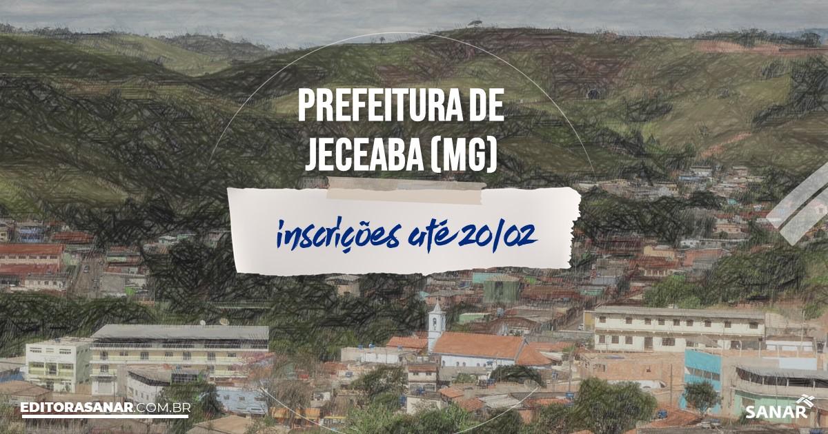 Concurso de Jeceaba - MG: vagas imediatas na Saúde!