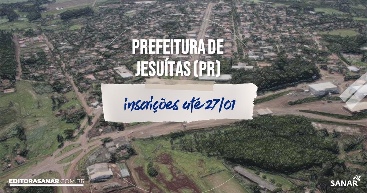 Concurso de Jesuítas - PR: remunerações na Saúde de até R$10 mil!