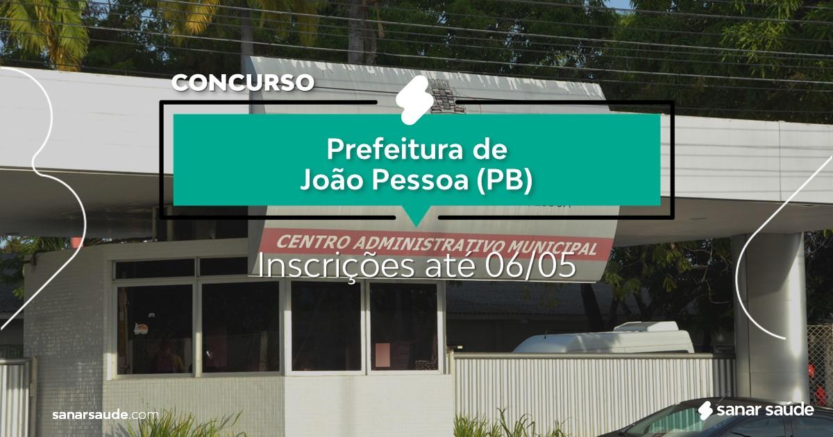 Concurso de João Pessoa - PB: 181 vagas imediatas na Saúde!