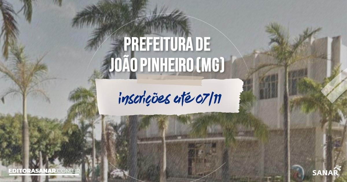 Concurso de João Pinheiro - MG: vagas na Saúde!