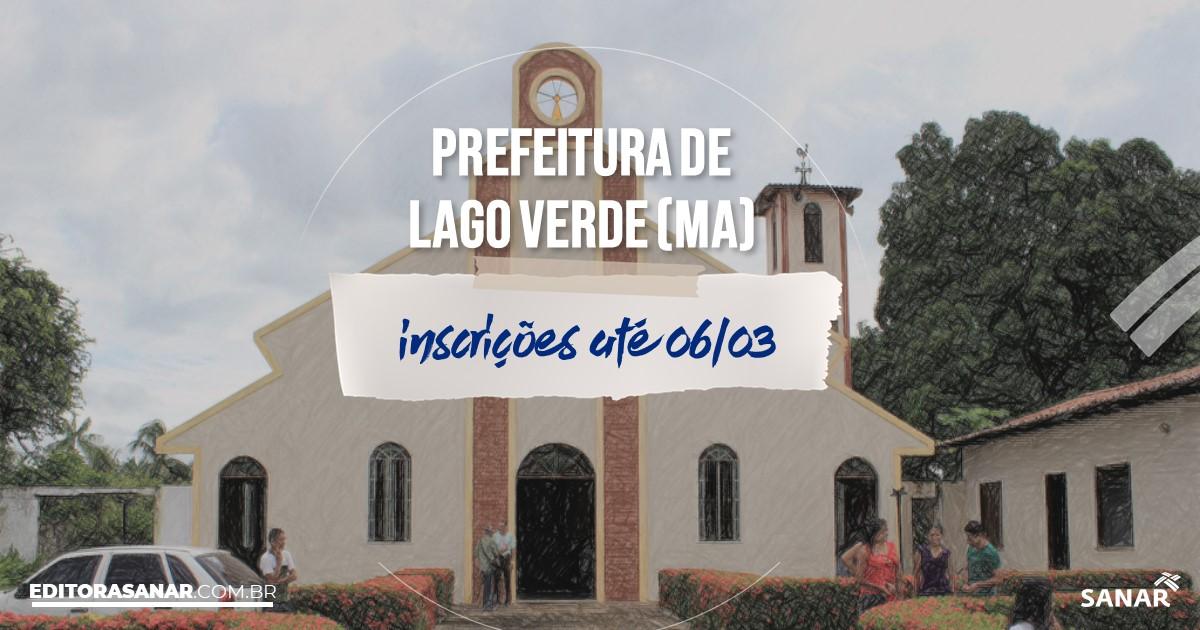 Concurso de Lago Verde - MA: vagas na Saúde!