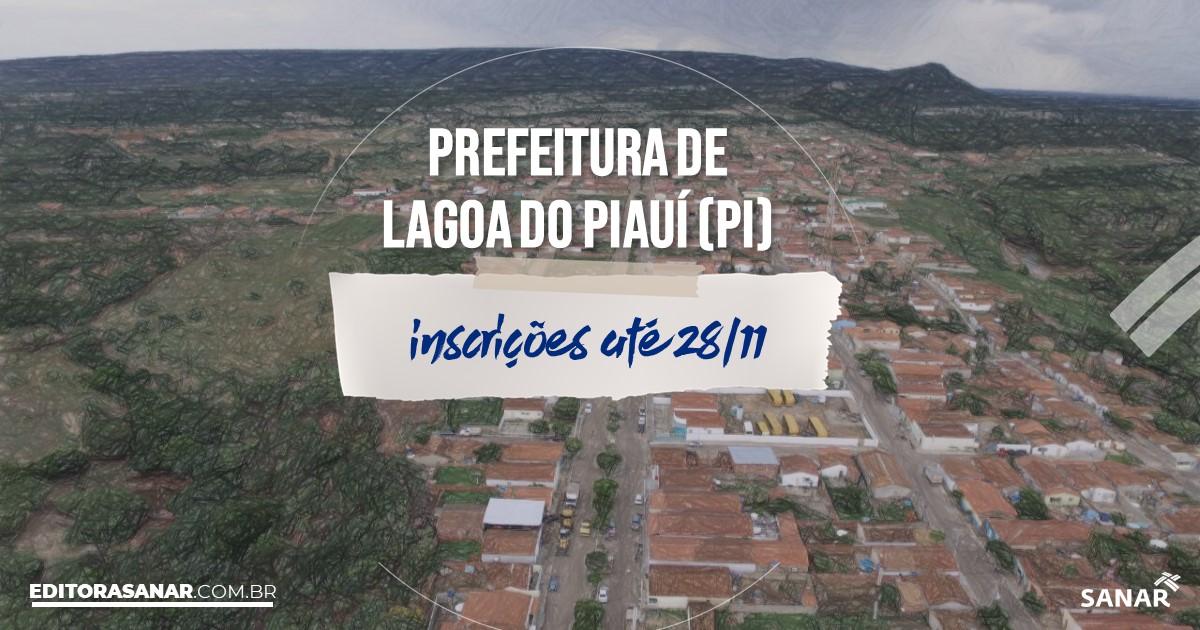 Concurso de Lagoa do Piauí - PI: vagas na Saúde!