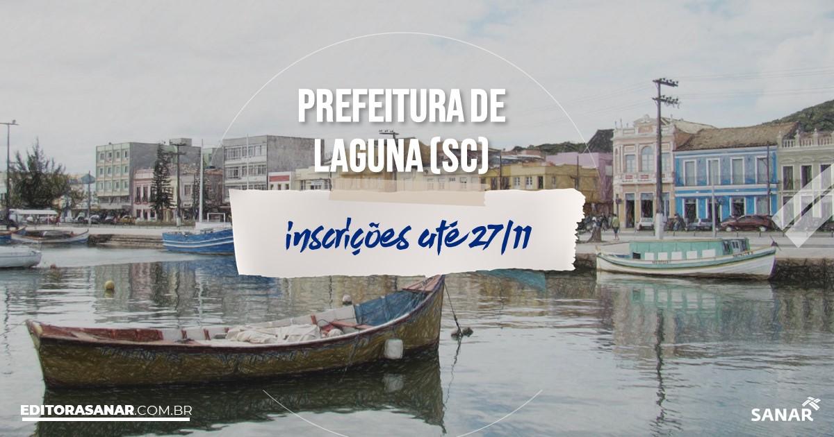 Concurso de Laguna - SC: vagas na Saúde!