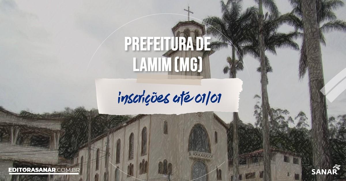 Concurso de Lamim - MG: salários de até R$11 mil na Saúde!