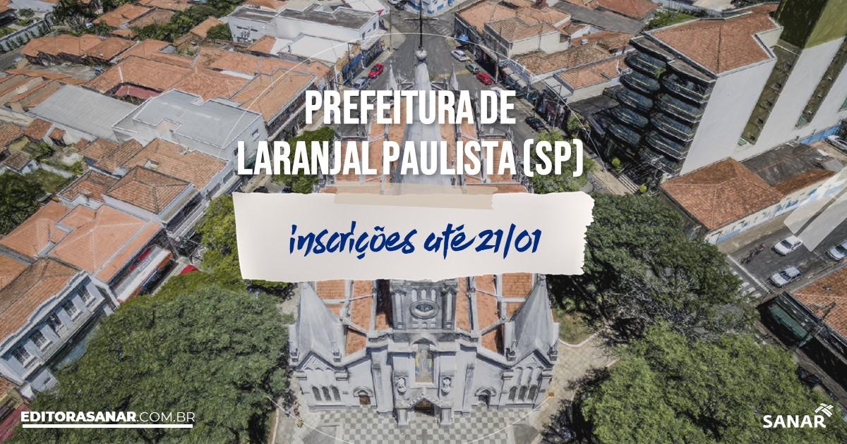 Concurso de Laranjal Paulista - SP: vaga na Saúde para médico!