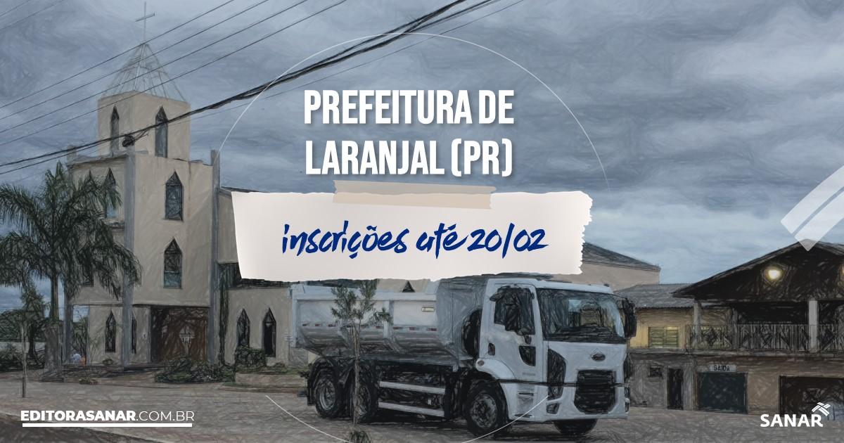 Concurso de Laranjal - PR: salários de até R$11 mil na Saúde!